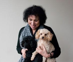 Christine met de hondjes